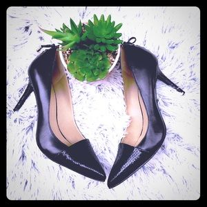 Levity black jalone sexy heels pointed 8.5